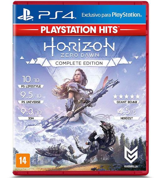 Jogo Ps4 - Horizon Zero Dawn Complete Edition Hits - Playsta