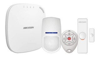 Kit Alarma Inalambrica Hikvision 3g Wifi Auto-instalable