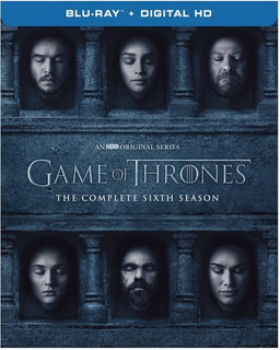 Game Of Thrones The Complete Sixth Season Blu-ray Us Imp