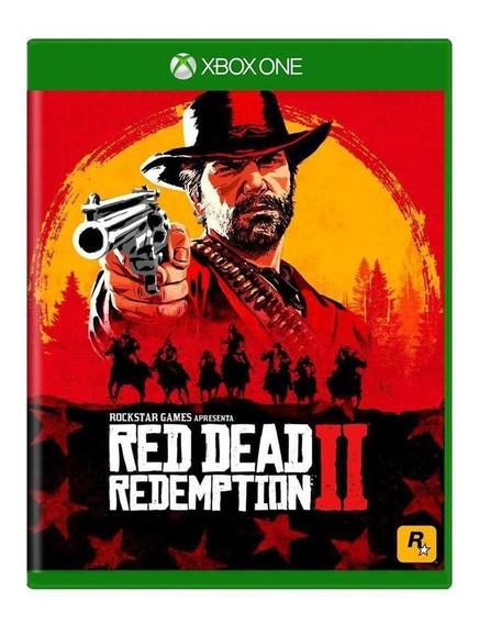 Red Dead Redemption 2 Xbox One Mídia Física Pronta Entrega