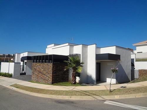 Casa Com 3 Dormitórios À Venda, 200 M² Por R$ 1.300.000 - Condomínio Residencial Giverny - Sorocaba/sp, Próximo Ao Shopping Iguatemi. - Ca0020 - 67639916