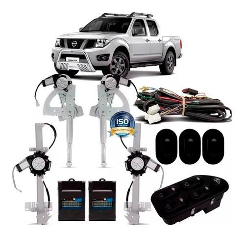 Vidro Eletrico Nissan Frontier 2009 Em Diante Completo 4 Portas Tragial
