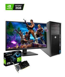 Pc Gaming Hp Core I7 16gb/ 1tb + 120 Ssd Monitor 22