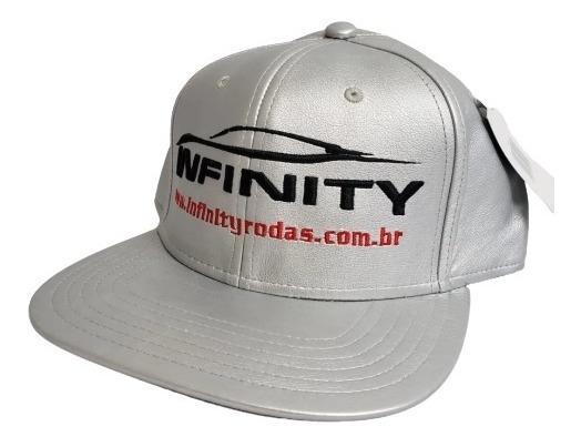 Boné Infinity Rodas Aba Reta Snap Back Funk Prata 3020