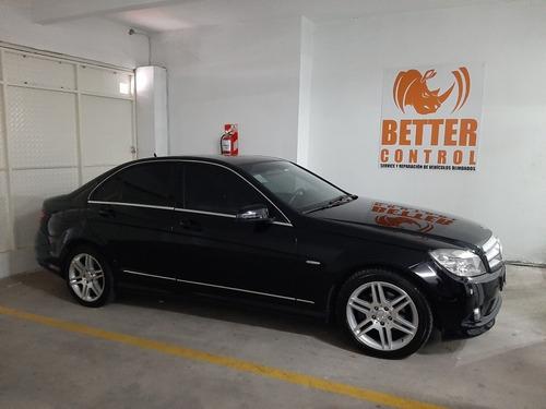 Mercedes Benz C200 At Blindado Antibalas Total Rb3 Armoring