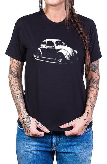 Camiseta Fusca Reticulado 100% Algodão Bandalheira