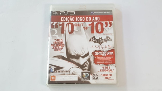 Batman Arkham City Goty - Ps3 - Original