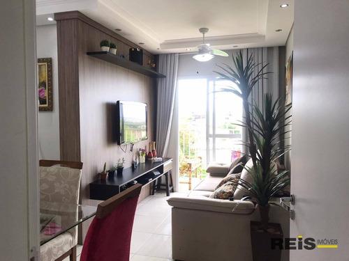 Imagem 1 de 17 de Apartamento Com 2 Dormitórios À Venda, 59 M² Por R$ 265.000,00 - Jardim Brasilândia - Sorocaba/sp - Ap1324