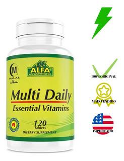 Daily Formula Universal 120tabs Multivitamínico Importado