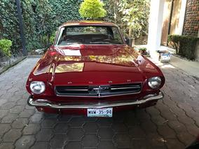 Ford Mustang 65 En Proceso De Restauración