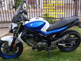 Suzuki Gladius 650 Cc Azul Y Blanca