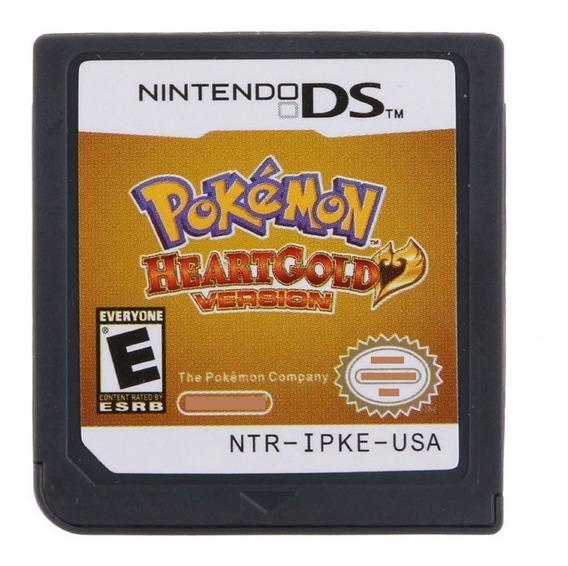 Pokemon Heartgold Inglês Americano Nintendo Ds 3ds 2ds