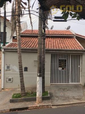 Casa Residencial À Venda, Jardim Planalto, Paulínia - Ca0332. - Ca0332