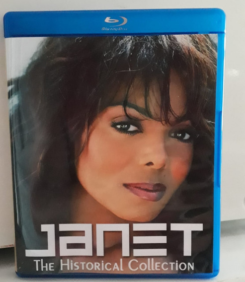* Bluray Duplo Janet Jackson Historical Collection Frete Gra