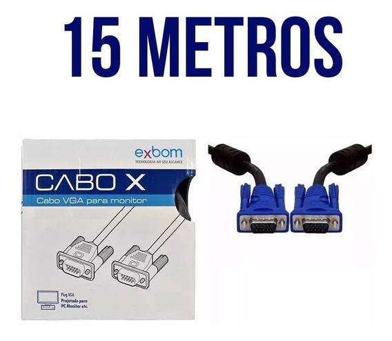 Cabo Vga Exbom Cbx-mvga150 15 Metros