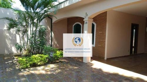 Casa Com 4 Dormitórios À Venda, 166 M² Por R$ 800.000,00 - Jardim Santa Genebra Ii (barão Geraldo) - Campinas/sp - Ca1243