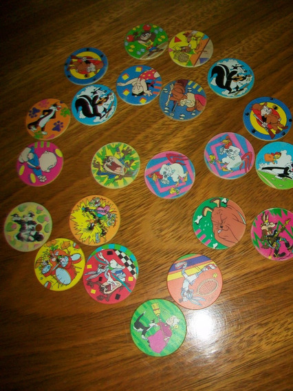 Lote 22 Tazos Warner Bros Looney Tunes 1994 Pepsico