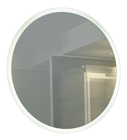 Espejo Circular 80cm Con Luz Led Touch 28w