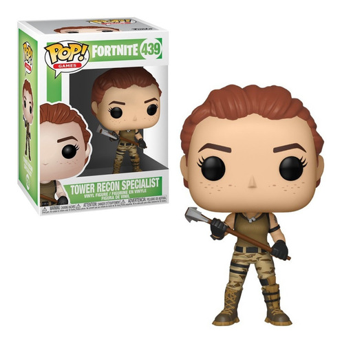 Figura Funko Pop Games Fortnite - Tower Recon 439 Orig!