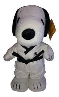 Snoopy Peanuts De Peluche Original Tae Kwon Do Karateka