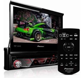 Dvd Pioneer Retratil Avh-3180bt Bluetooth 1 Din Carro Auto