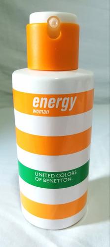 Energy Woman Benetton Perfume Edt 100ml - Discontinuado