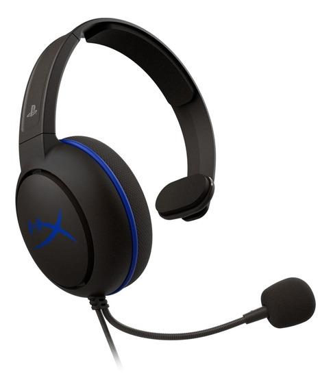Headset Gamer Hyperx Cloudx Chat Ps4 P2 Hx-hscchs-bk/am