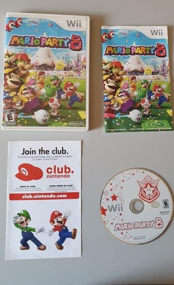 Mario Party 8 | Original |nintendo Wii | Completo Com Manual