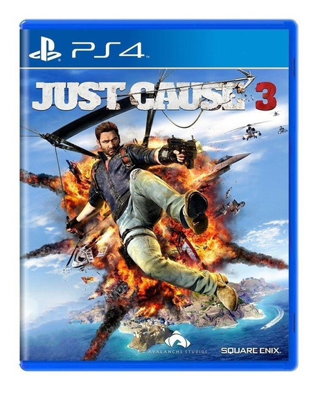 Just Cause 3 Ps4 Mídia Física Pronta Entrega