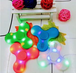 Spinners Led Con Bocina Incluida Vía Bluetooth