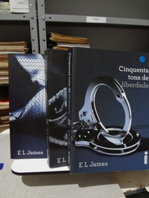 Trilogia Cinquenta Tons De Cinza - 3 Volumes - E L James