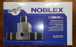 Home Theater Noblex Amx 30 - Impecable -