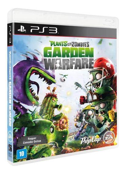 Plants Vs Zombies - Garden Warfare - Ps3 Midia Fisica