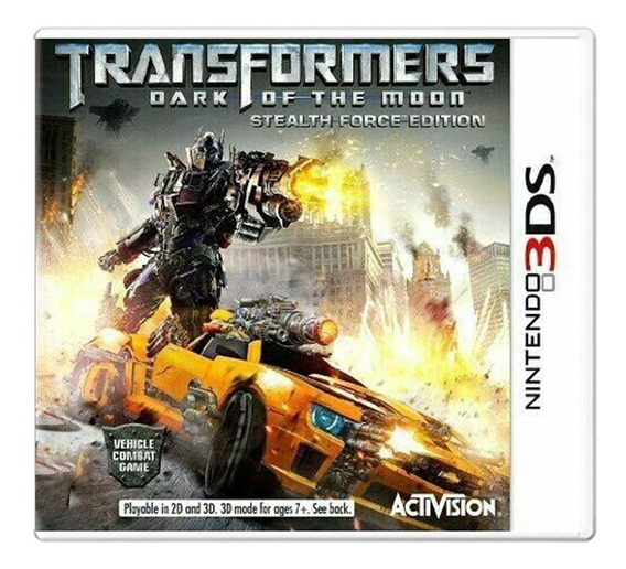Transformers Dark Of The Moon - Nintendo 3ds - Usado