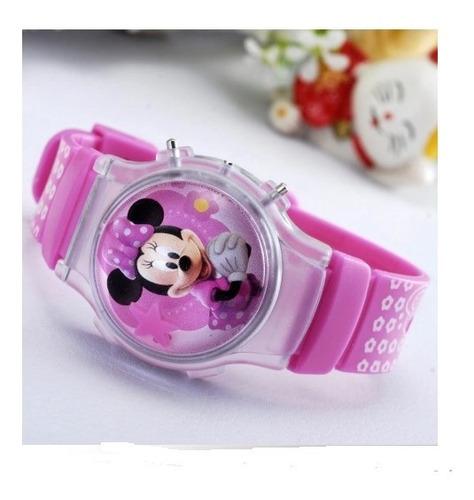 Reloj Minie, Mickey, Hello Kitty, Frozen Digital