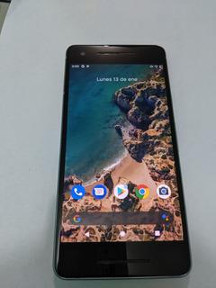 Excelente Google Pixel 2 Azul 64gb Android 10 Libre 9.5/10