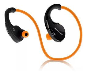 Fone De Ouvido Arco Sport Pulse Bluetooth Laranja Ph185