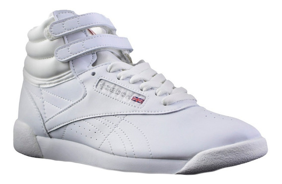 Zapatillas Reebok Freestyle High Mf Mujer Blanco
