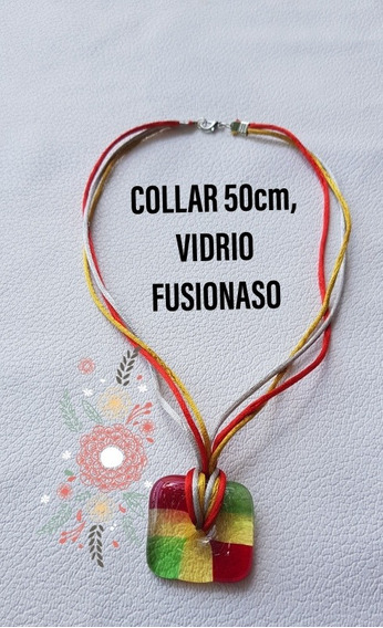Collar Fino, Elegante, Bob Marley, Moderno, Vitrofusion