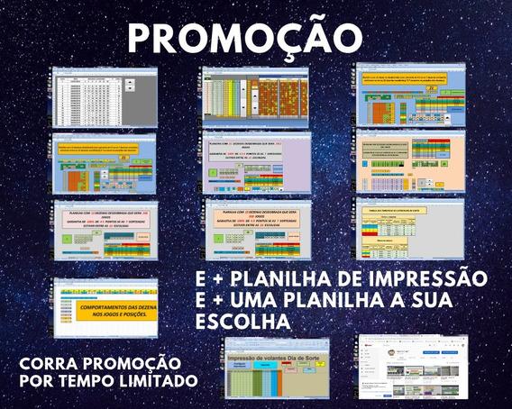 Promoção Super Kit De Planilhas Para O Dia De Sorte