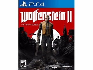 Wolfenstein Ii: The New Colossus Ps4 Envio Gratis Fisico