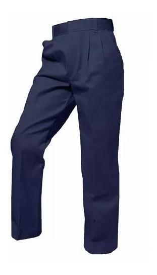 Pantalon Escolar Azul Marino/vino (nuevo)