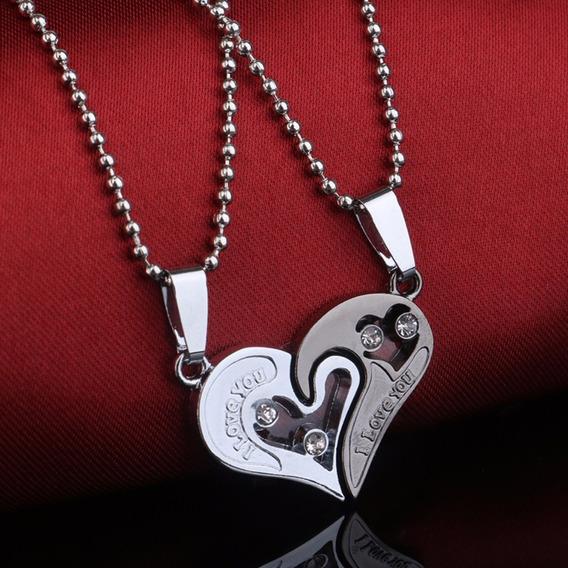 Colar Coração Um Belo Presente Dia Dos Namorados Frete 8,00