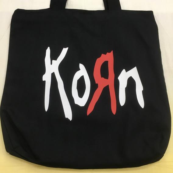 Bolsa Tecido Korn Rock