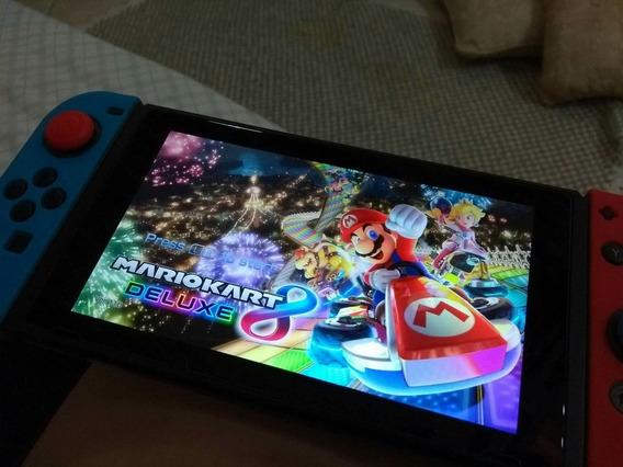 Película De Vidro Nintendo Switch Lacrada 2 Unidades