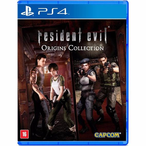 Resident Evil Origins Collection - Ps4 - Novo - Mídia Física
