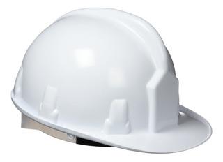 Casco Seguridad Construcción Ultra Resistente Blanco