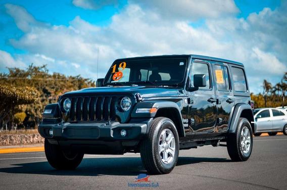 Jeep Wrangler Unlimited Sport 2019