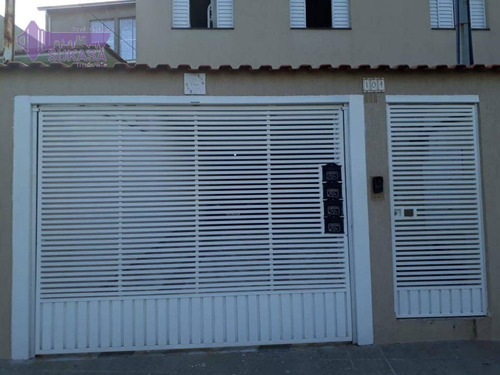 Cobertura Com 2 Dormitórios À Venda, 100 M² Por R$ 330.000,00 - Vila Clarice - Santo André/sp - Co0467