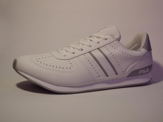Tenis Masculino Casual Fila F-retro Branco - 11u352x